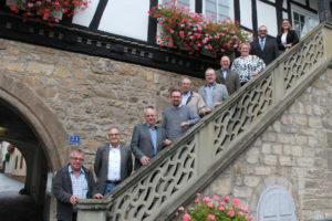 Eine starke Truppe, die Bürgermeister der Streutalallianz, die die Zukunft für die Streutal-Region schmieden (Foto: Georg Stock)