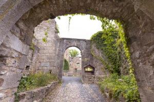 Die Ruine Lichtenburg in der Stadt Ostheim v. d. Rhön ist von zahlreichen Orten in der Streutalallianz sichtbar (Foto: Leska Hörner)