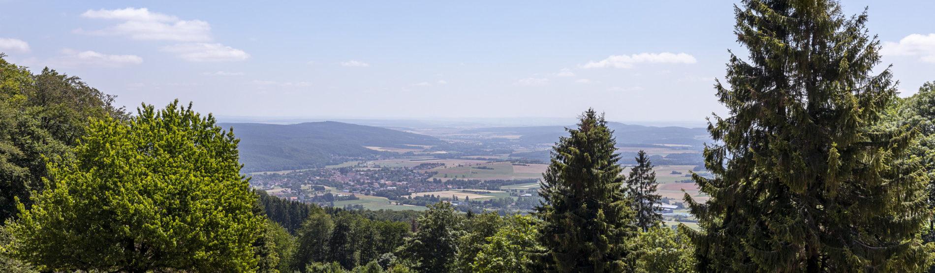 Vom Heimatblick Fladungen auf die Streutalallianz (Foto: Leska Hörner - Leskas Wunderwelt)