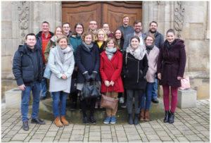 Auch die Allianzmanagerin der Streutalallianz war Seminarteilnehmer bei der erfolgreichen ILE-Vernetzung in Franken (Foto: Johannes Krüger)