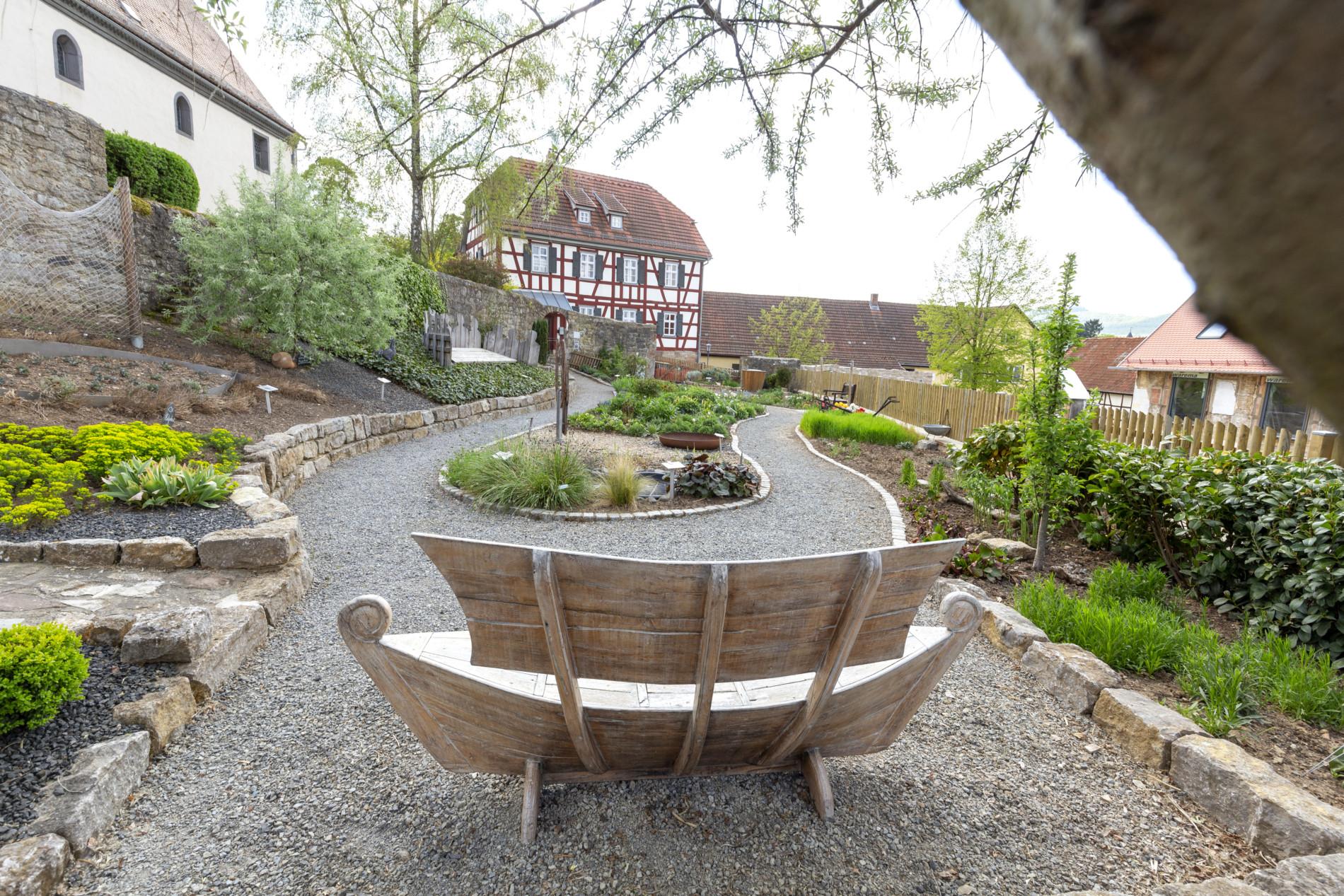 Eines der Höhepunkte in der Streutalallianz: der Bibelgarten in Sondheim v. d. Rhön (Foto: Leska Wunderwelt)
