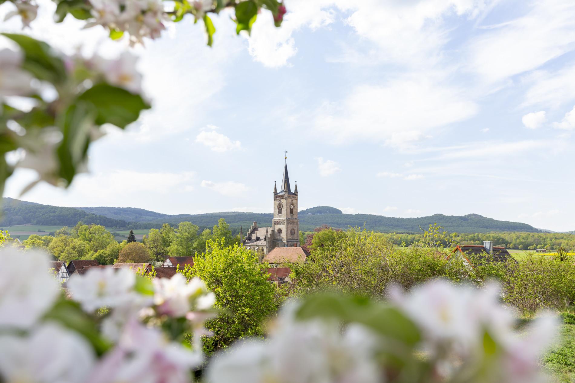 Verzaubertes Urspringen in der Streutalallianz (Foto: Leska Wunderwelt)