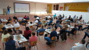 Seminar gelungene Ortsmitte in der Streutalallianz 12.09.2020, (Foto: Marc Huter)