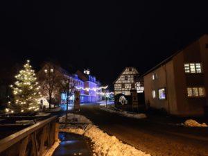 Die sanierte Altstadt von Mellrichstadt in der Streutalallianz (Foto: Frau Kokula)