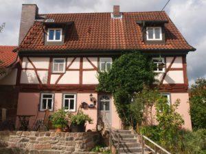 Das romantische Fachwerkhaus in Rödles in der Streutalallianz (Foto: Herr Seufert)