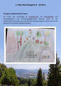 1. Platz 6 - 10 Jahre Malwettbewerb Streutalallianz