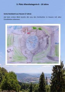 3. Platz 6 - 10 Jahre Malwettbewerb Streutalallianz