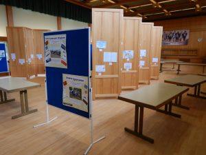 Die Kunstausstellung in Fladungen ein paar Tage später (Foto: Streutalallianz).